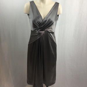 Elie Tahari 100% Silk Sleeveless Dress US 6